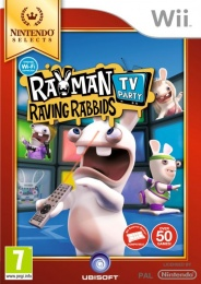 Wii Rayman Raving Rabbids TV Party Selects