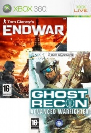 X360 Ghost Recon AW + End war double pack
