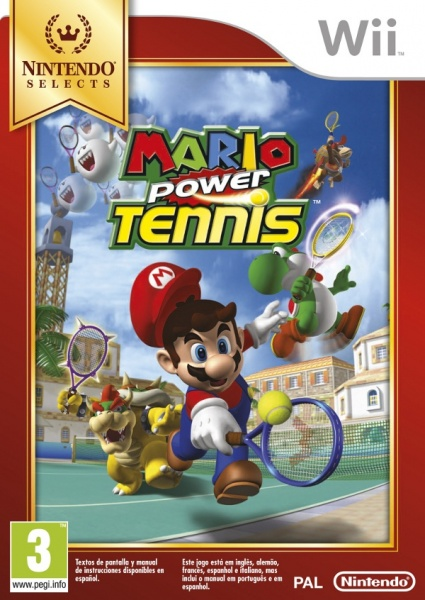 Mario Power Tennis Nintendo Select