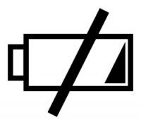 Li-Ion akumulátor, ilustrační ikona