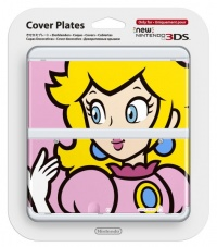 New 3DS Cover Plate 4 (Peach)