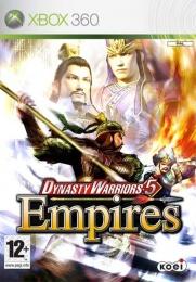 X360 Dynasty Warriors 5 Empires