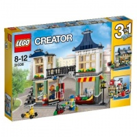 LEGO CREATOR 31036  Obchod s hračkami, potravinami