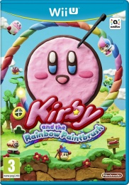 WiiU Kirby and Rainbow Paintbrush