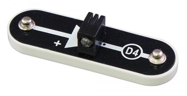 D4 (6SCD4) LED Dioda, svítící bíle