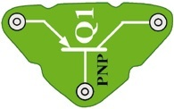 Q1 (6SCQ1) PNP tranzistor