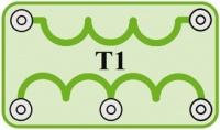 T1 (6SCT1) Odpor 1k