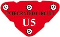 U5 (6SCU5) Vysokofrekvenční integrovaný obvod