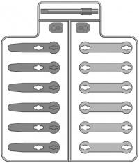 6SCCRAWP Součástky pro pohybový modul