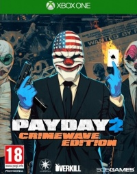 XONE Payday 2 Crimewave Edition