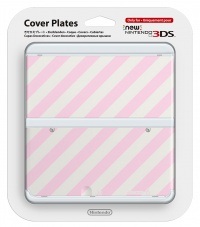 New 3DS Cover Plate 14 (Pink Mix)