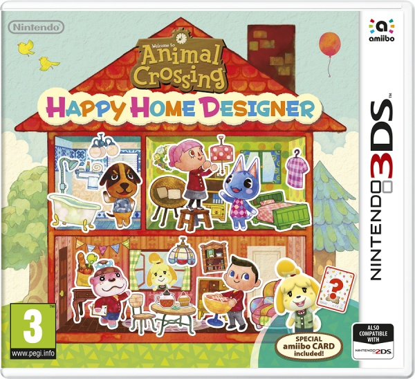 Animal Crossing: Happy Home Designer+Card