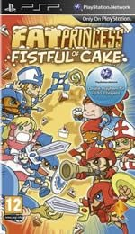 PSP Fat Princess: Fistful of Cake