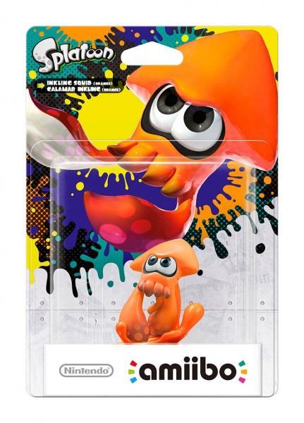 amiibo Splatoon Orange Squid