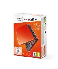 New Nintendo 3DS XL Orange + Black