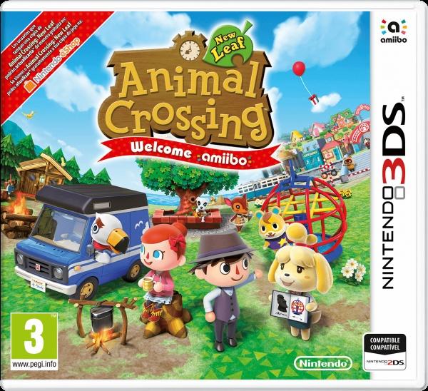 Animal Crossing: New Leaf + amiibo card
