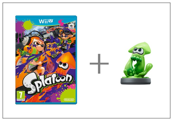Splatoon + amiibo Splatoon Squid