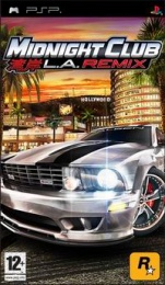 PSP Midnight Club 4: Los Angeles Remix