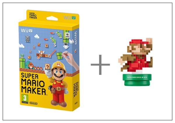 Super Mario Maker + Artbook + Classic Mario