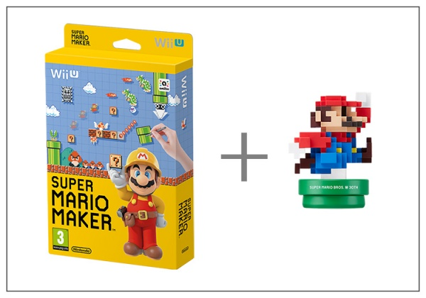 Super Mario Maker + Artbook + Modern Mario