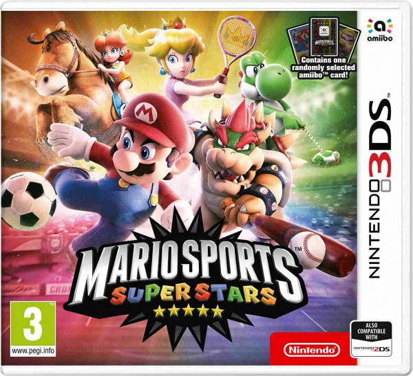 Mario Sports Superstars + amiibo card (1pc)