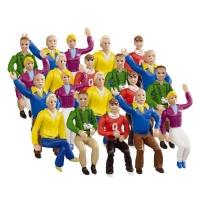 21129 Figurky - Fanoušci hlavní tribuna