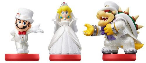amiibo Super Mario – 3 set
