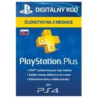 PlayStation Plus Card 90 Days Hang SK