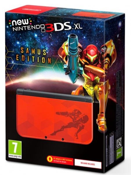 New Nintendo XL Samus Edition