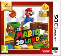 3DS Super Mario 3D Land Select