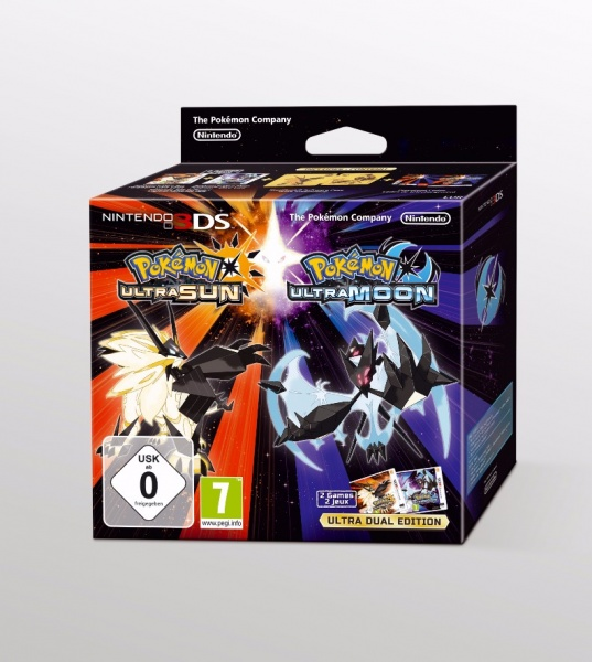 Pokémon Ultra Sun / Ultra Moon Dual Pack
