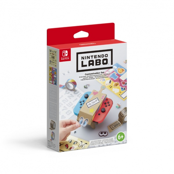 SWITCH Nintendo Labo Customisation Set