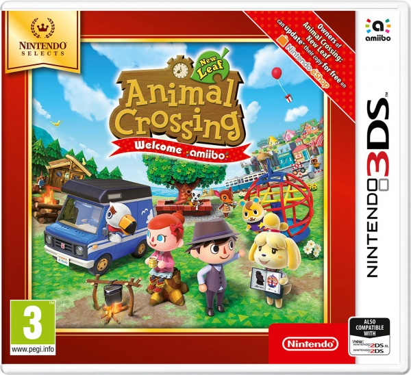 Animal Crossing New Leaf-Welcome amiibo Select