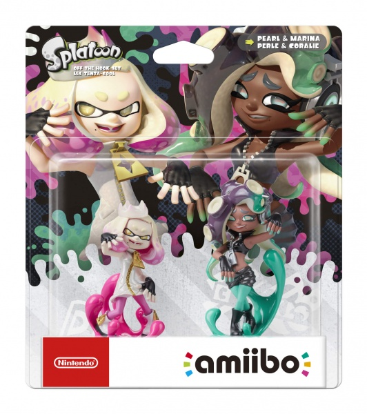 amiibo Splatoon 2 – Off the Hook set