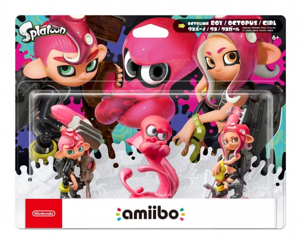 amiibo Splatoon Octoling 3-Pack