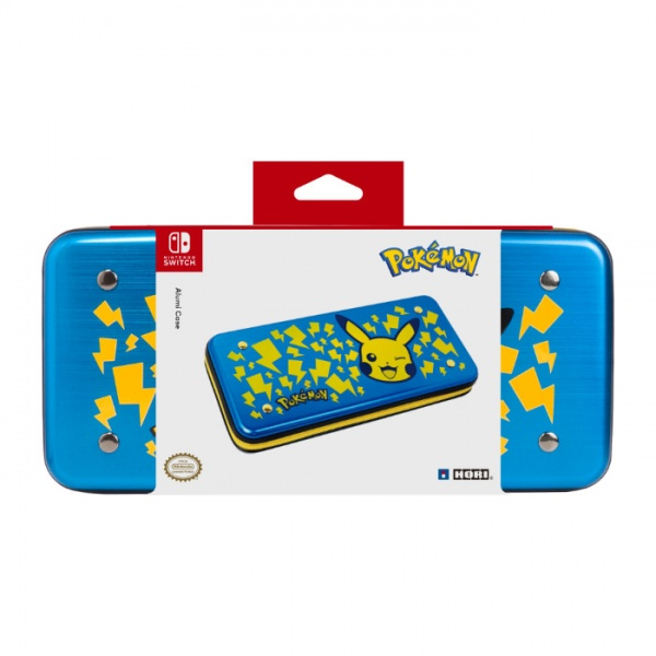 Alumi Case for Nintendo Switch (Pikachu – Blue)