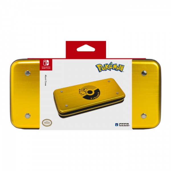 Alumi Case for Nintendo Switch (Pikachu – Gold)