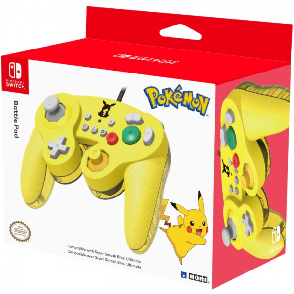 SWITCH GameCube Style BattlePad – Pikachu