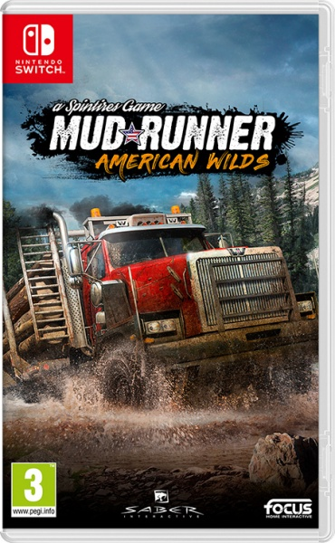 SWITCH Spintires: MudRunner – American Wilds Ed.