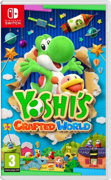 SWITCH Yoshi's Crafted World