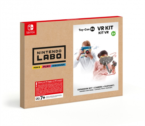 SWITCH Nintendo Labo VR Kit – Expansion Set 1