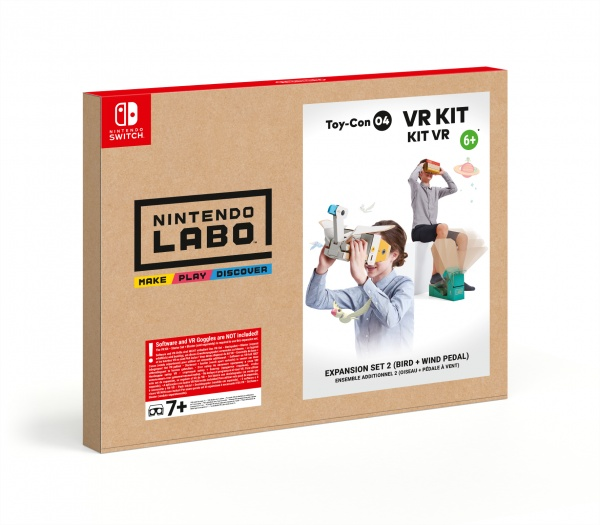 SWITCH Nintendo Labo VR Kit – Expansion Set 2