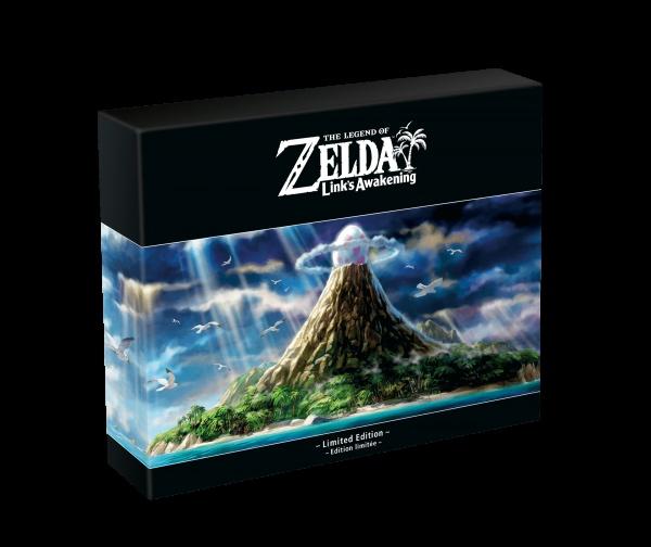 SWITCH The Legend of Zelda: Link's Awak. Lim. ed.