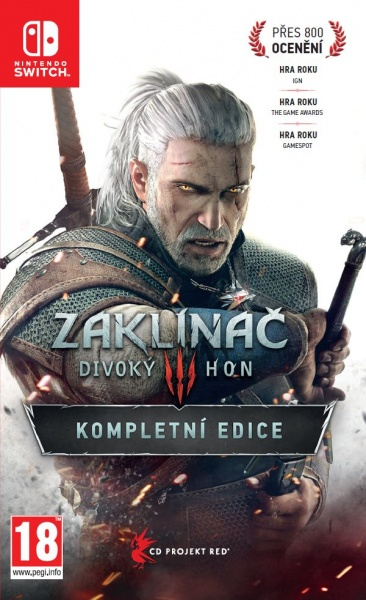 SWITCH The Witcher 3: Wild Hunt — Complete Edition HU