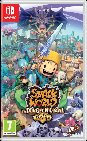 SWITCH Snack World: The Dungeon Crawl – Gold