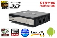 eGreat EG-R200S,3D Player RTD1186/750MHz/ANDROID