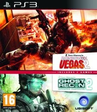 PS3 GR Advance Warfighter&Rainbow 6 Vegas2 pack