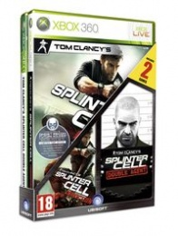 X360 TC Splinter Cell Double agent&Conviction