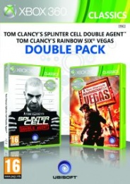 X360 Splinter Cell Double Agent&Rainbow 6 Vegas