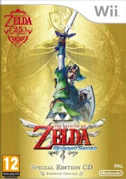 Wii The Legend of Zelda: Skyward Sword + music CD